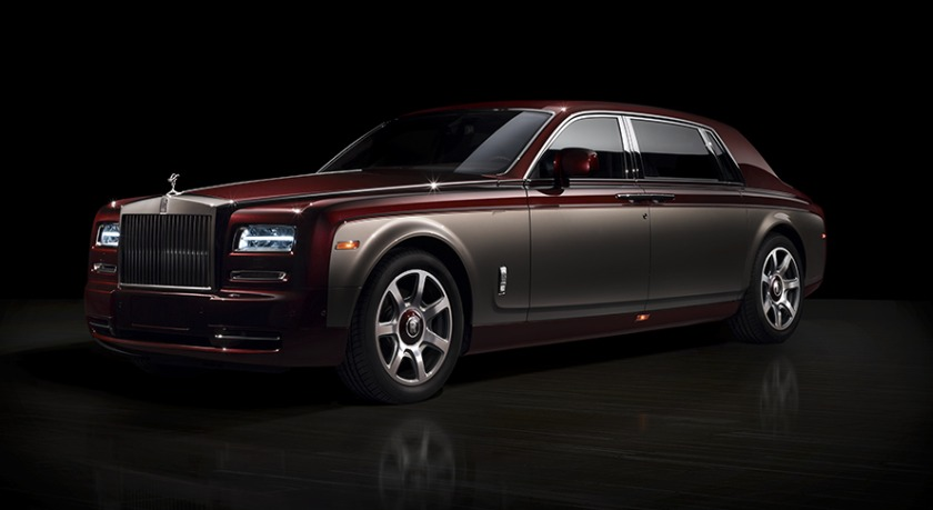 Rolls Royce Phantom Pinnacle Travel Collection