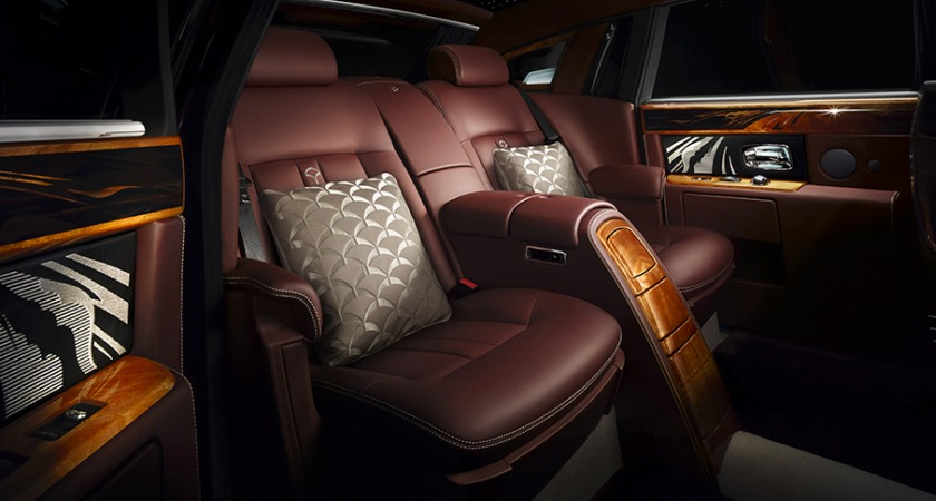 Rolls Royce Phantom Pinnacle Travel Collection Interior