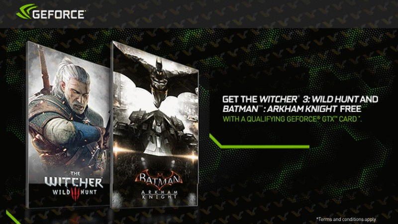 Geforce Witcher3 Batman AK