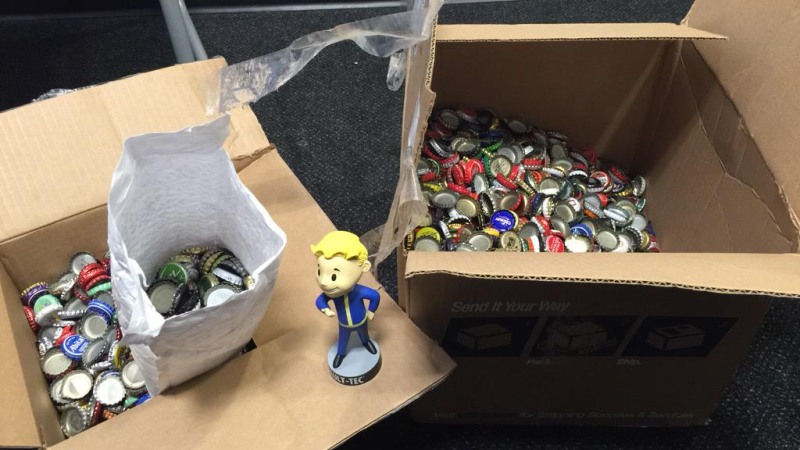 Bethesda Fallout 4 bottle caps