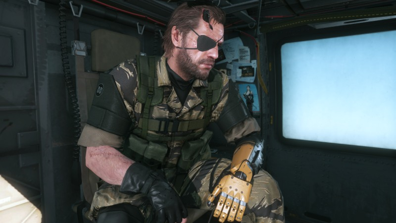 MGSV Graphics Comparison