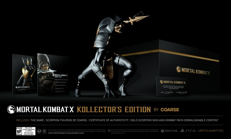 Mortal Kombat X: Kollector's Edition by Coarse