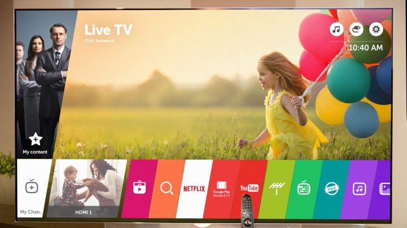 WebOS 3.0 Smart TV