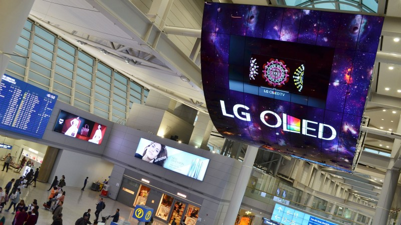 OLED-Signage-Incheon-Airport