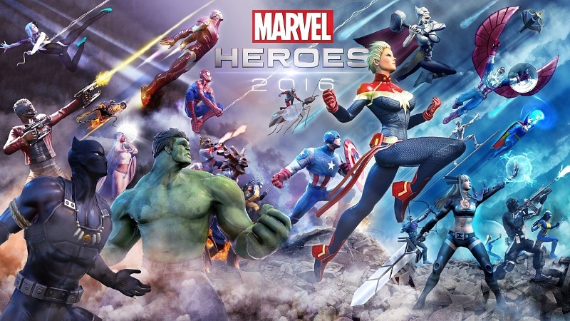 Gazillion's Marvel Heroes 2016